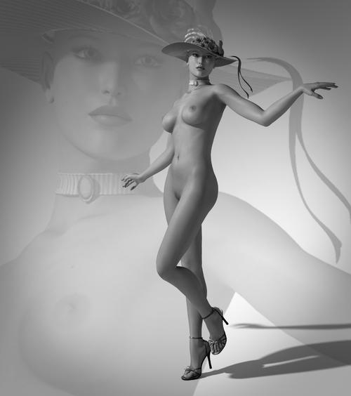 Galerie Digitale 4 : Nu 4