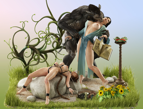 Galerie Digitale 56 : Loups Garous