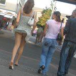 FEMME SEXY DE LA RUE