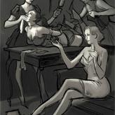 Les dessins érotiques de Sardax