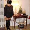 suzanne la sexagenère habillée sexy pour NOEL