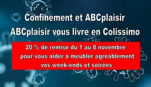 Promotion confinement de ABCplaisir