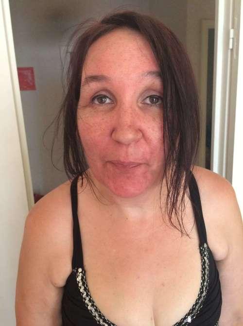 vanessa souffre de la canicule