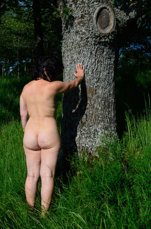 la nudité en nature
