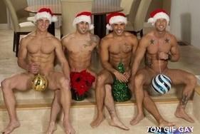 De très beau pères Noël sexy
