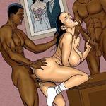Mari blanc VS amant black