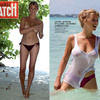 Virginie Efira nue pour Paris Match