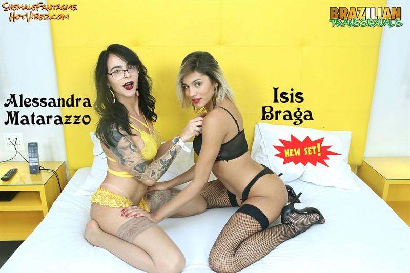 Alessandra Matarazzo & Isis Braga