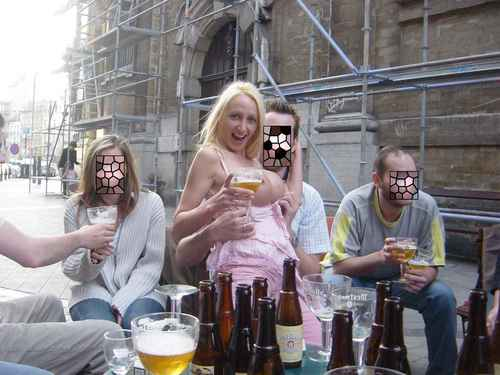 sophie bazile la blondasse belge