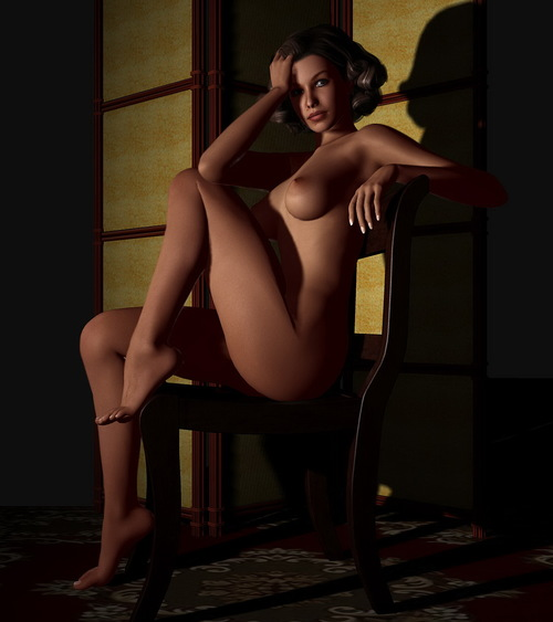 Galerie Digitale 11 : Sitting on a chair