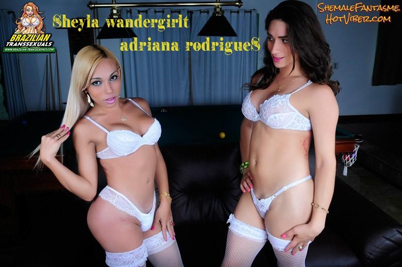 Sheyla Wandergirlt & Adriana Rodrigues