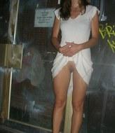 fille saoule nue