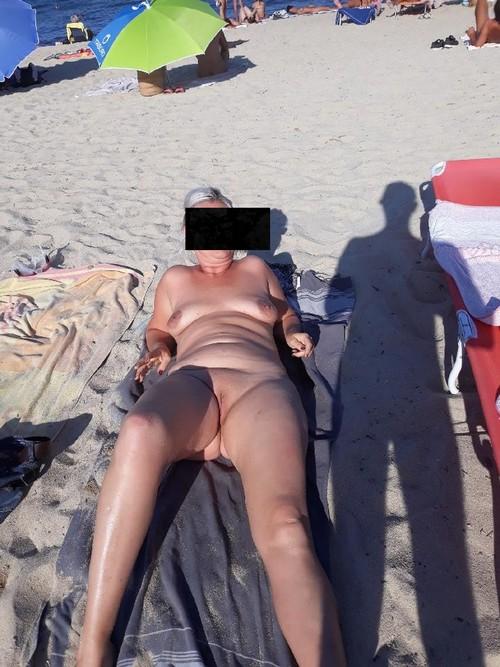 sonia al plage ...