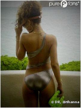 Rihanna sexy et presque nue sur Twitter-Photos