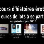 Concours d'histoires érotiques printemps 2016