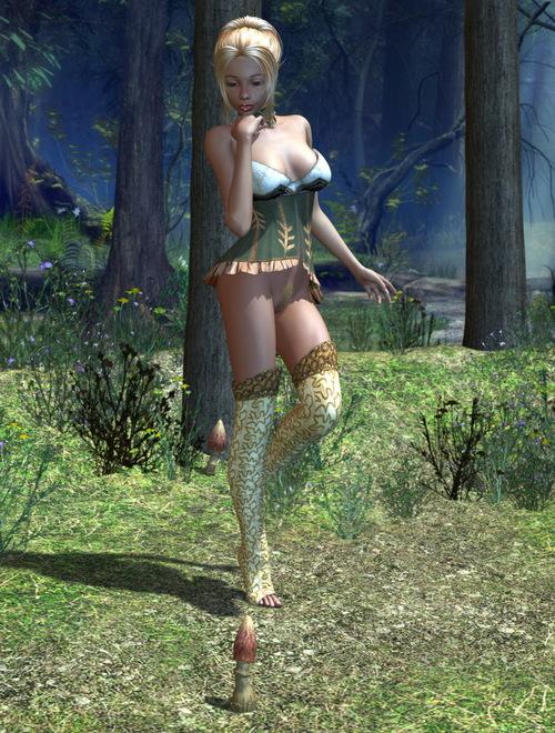 Galerie Digitale 27 : Un amour de champignon