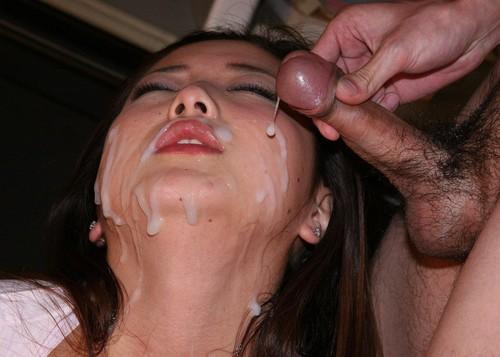 Face à sperme 4