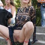 La Blonde au Parc