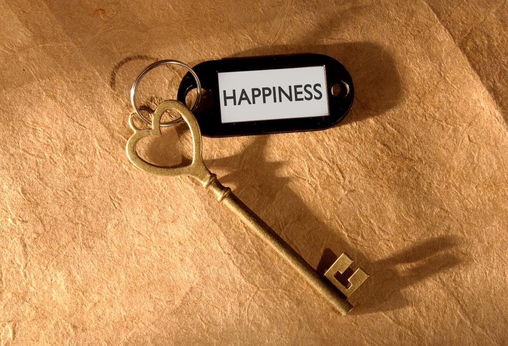 La clé de mon cœur, tu es la clé de mon bonheur
