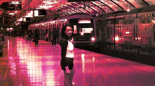 Sexy pour prendre le train
