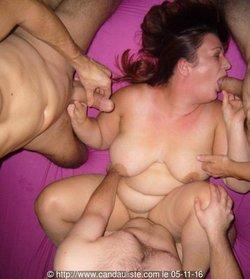 Habillée et nue la SLUT BELGE