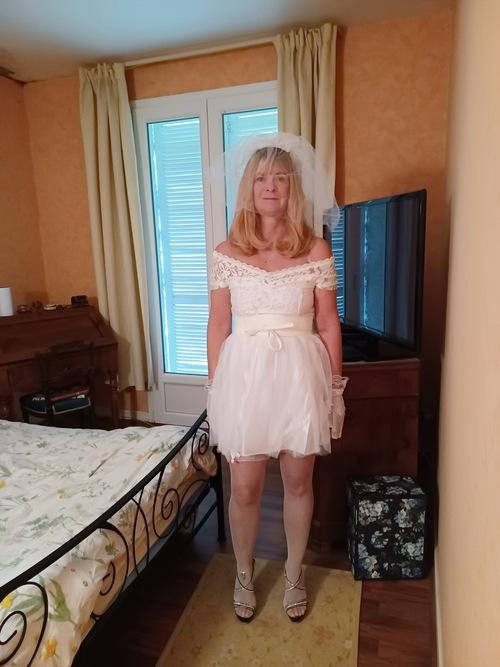 une mariée bien perverse ...