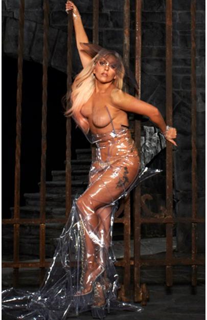 Lady Gaga totalement nue pour sa promotion!