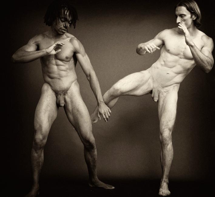 Nude greek wrestling