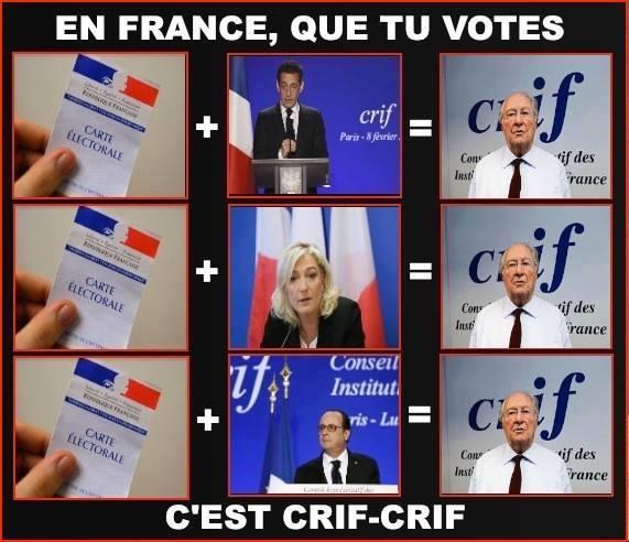 FRANCE, LES MINORITÉS ont encore triomphé…