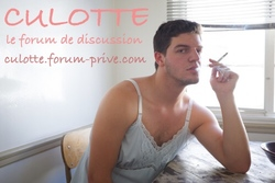 Culotte en forum ...