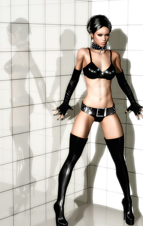 Galerie Digitale 46 : Latex & Fetish