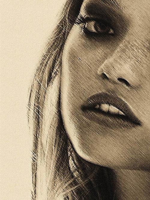 Galerie Pastel 6 : Faces